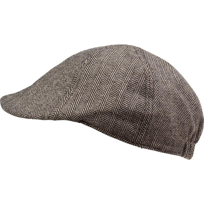 Casquette de chasse tweed plate - 982401