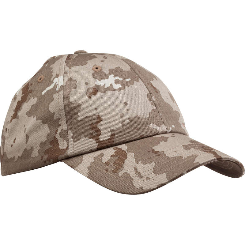 CAPS/HATS Shooting and Hunting - Steppe 100 Cap - Island Camouflage SOLOGNAC - Hunting and Shooting Clothing
