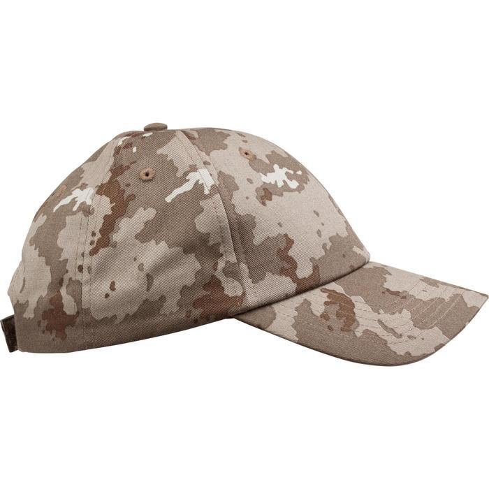 Gorra de caza Steppe 100 camuflaje Island