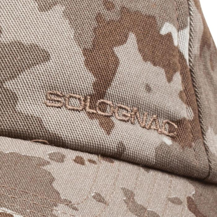 JagdSchirmmütze Steppe 100 Camouflage Island