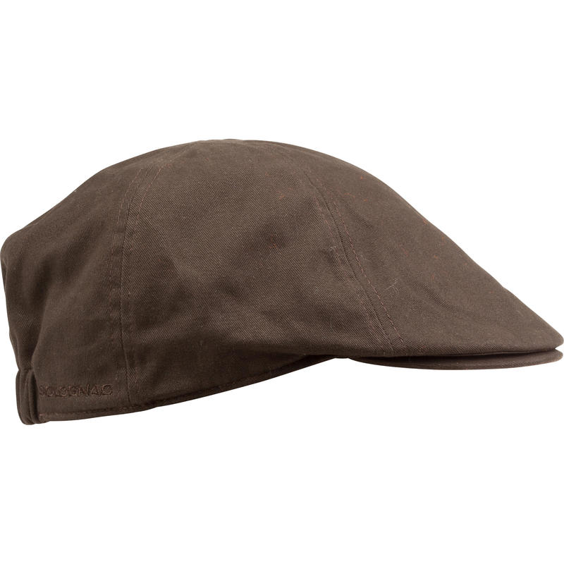 Steppe Flat Hunting Cap - Brown