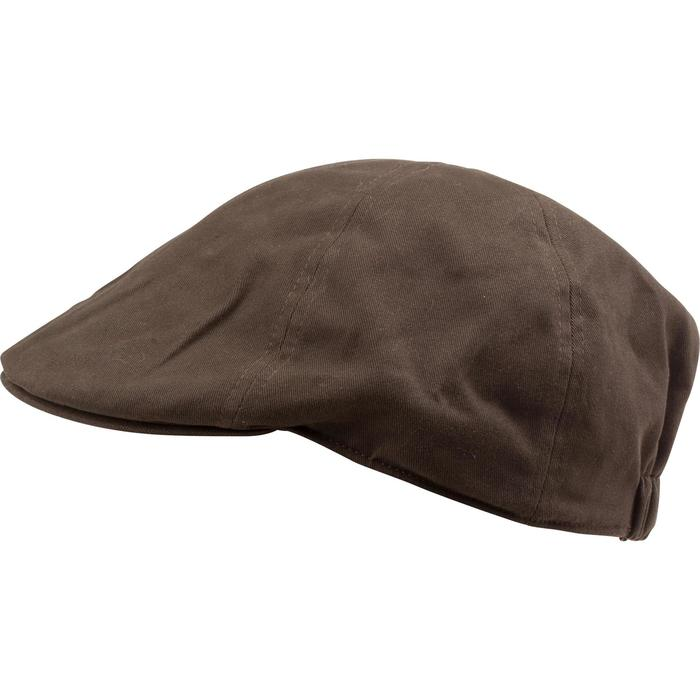 Casquette plate chasse Steppe marron