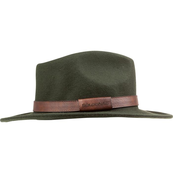 Sombrero caza fieltro verde