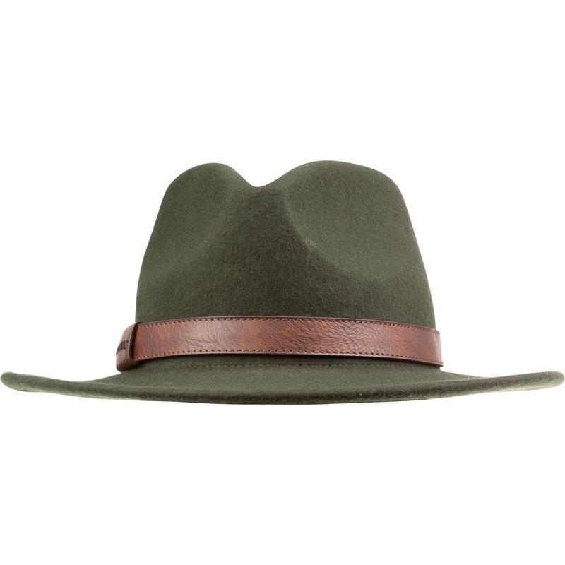 Chapeau chasse déperlant feutre 100 vert