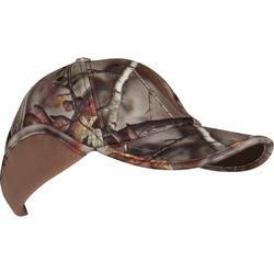 Fleece pet met oorkleppen Actikam-BR camouflage - 982441