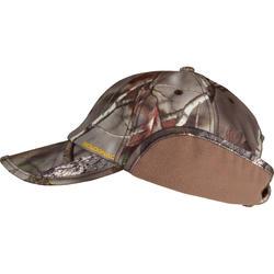 Fleece pet met oorkleppen Actikam-BR camouflage - 982442