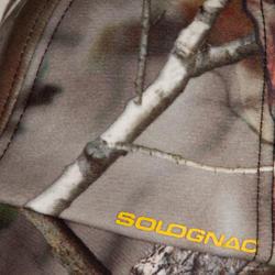 Fleece pet met oorkleppen Actikam-BR camouflage - 982444