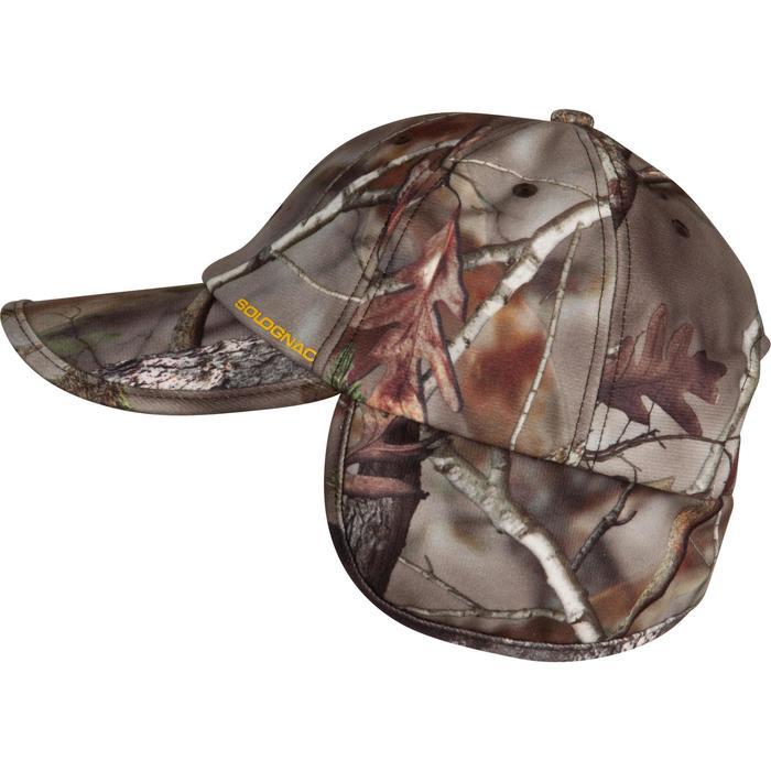 Casquette rabats chasse Actikam camouflage - 982445