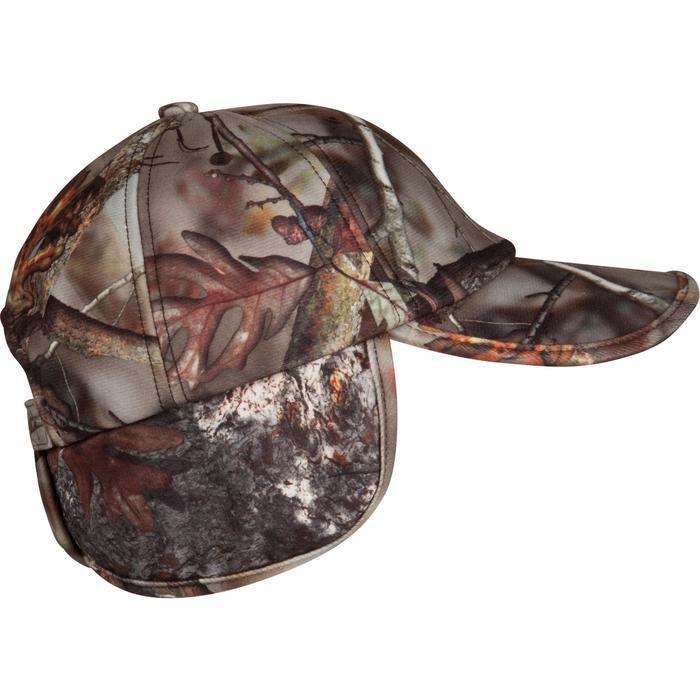 Casquette rabats chasse Actikam camouflage - 982448