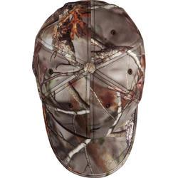 Fleece pet met oorkleppen Actikam-BR camouflage - 982449
