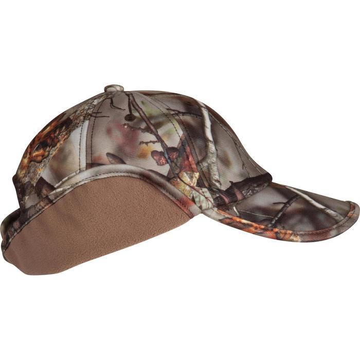Casquette rabats chasse Actikam camouflage - 982450