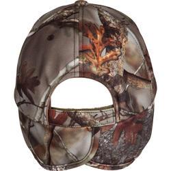 Fleece pet met oorkleppen Actikam-BR camouflage - 982452