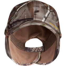 Fleece pet met oorkleppen Actikam-BR camouflage - 982453