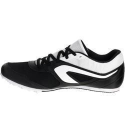 Atletiekschoenen met spikes zwart/wit - 982475