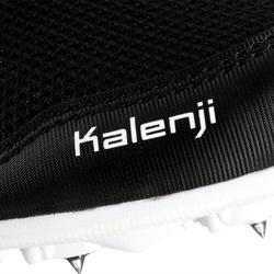 Atletiekschoenen met spikes zwart/wit - 982494