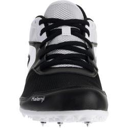 Atletiekschoenen met spikes zwart/wit - 982629