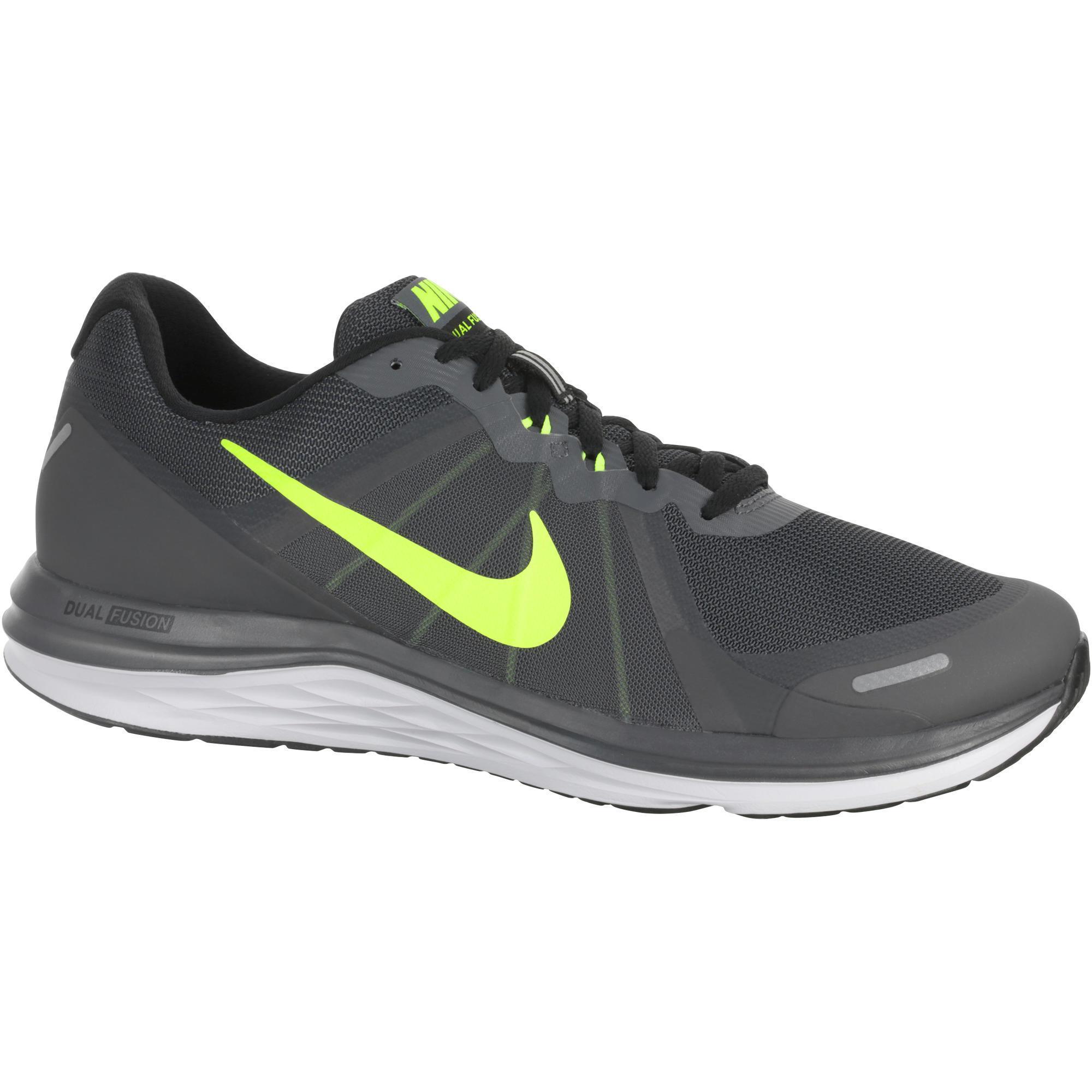 sports shoes c6ffe ab6b5 Zapatillas de running hombre NIKE DUAL FUSION X2 negro gris Nike  Decathlon