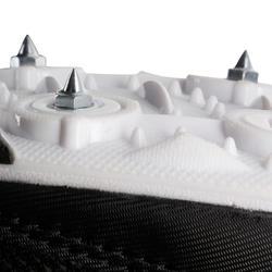 Atletiekschoenen met spikes zwart/wit - 982688