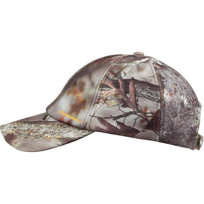 Casquette chasse chaude Actikam camouflage - 982754