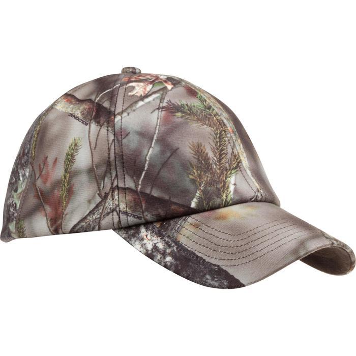 Casquette chasse chaude Actikam camouflage - 982757
