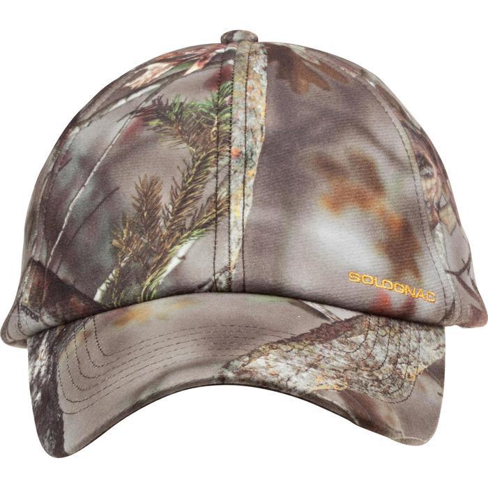 Casquette chasse chaude Actikam camouflage - 982759