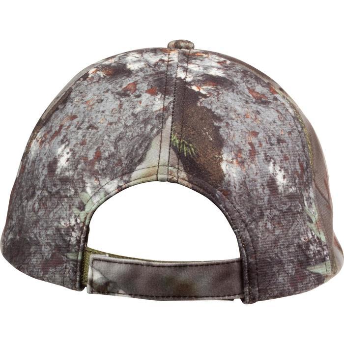 Warme Jagdmütze Actikam Camouflage braun