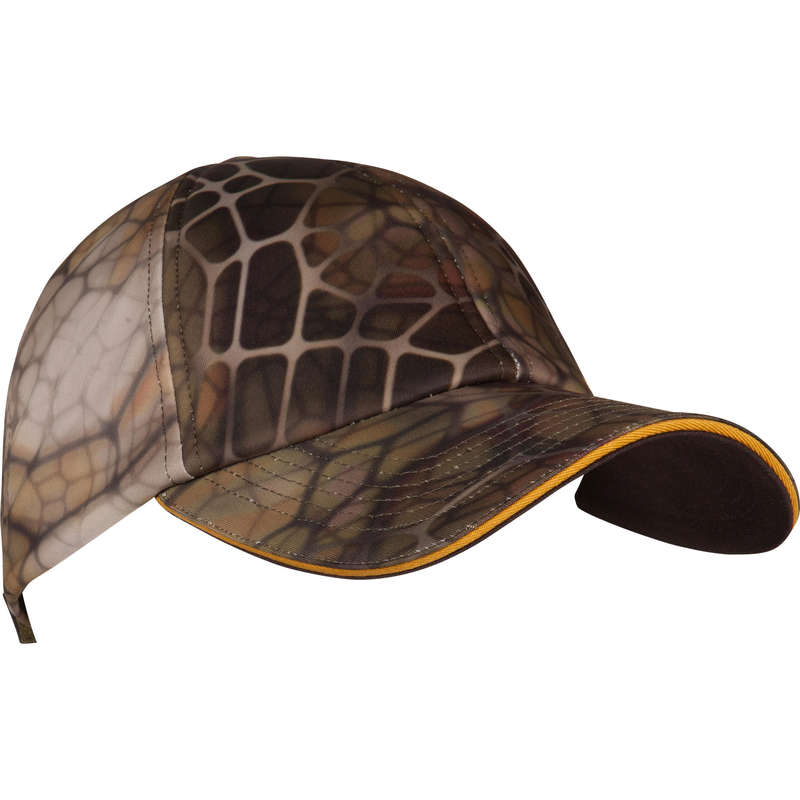 STALK CLOTHING DRY/WET WEATHER Shooting and Hunting - Cap 500 - Furtiv Camo SOLOGNAC - Hunting and Shooting Clothing