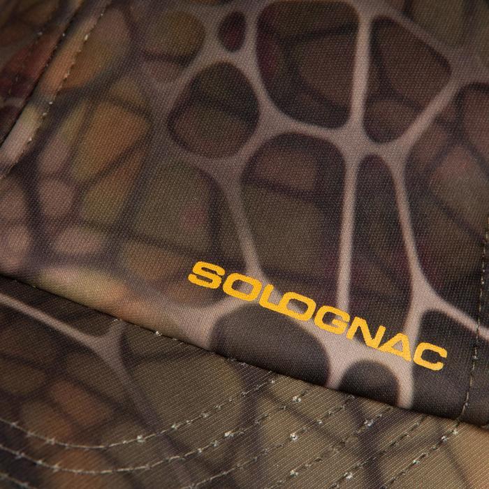 Gorra Caza Solognac 500 Perlante Camuflaje Sigilo
