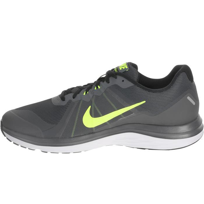 chaussure de running course à pied homme NIKE DUAL FUSION X2 noire gris - 982803