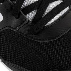 Atletiekschoenen met spikes zwart/wit - 982838