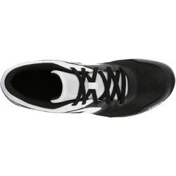 Atletiekschoenen met spikes zwart/wit - 983013