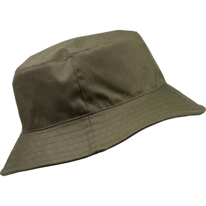 Gorra de caza impermeable verde Solognac  053eb9e1bd9