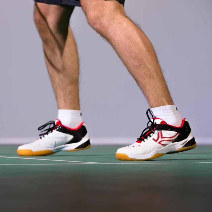 Zapatillas de bádminton BS800 - Blancas
