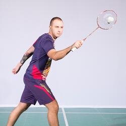 Badmintonracket BR 920 P flash rood - 983262