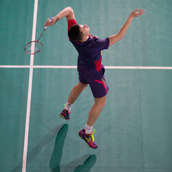 Badmintonracket BR 920 P flash rood - 983273