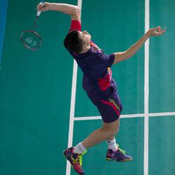 Badmintonracket BR 920 P flash rood - 983331