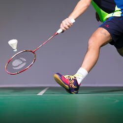 Badmintonracket BR 920 P flash rood - 983563