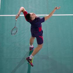 Badmintonracket BR 920 P flash rood - 983802