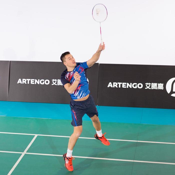 Badmintonschuhe BS800 Badminton Squash Herren schwarz/orange