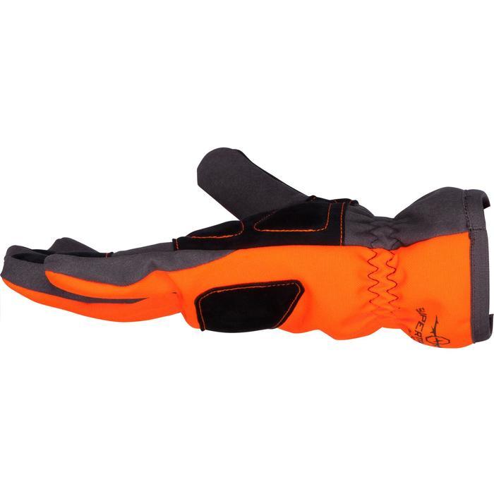 Jagdhandschuhe Supertrack 500 wasserdicht orange