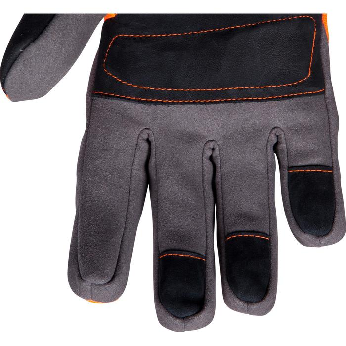 Waterdichte handschoenen Supertrack 500 voor de jacht oranje