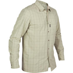 Overhemd 100 groen geruit