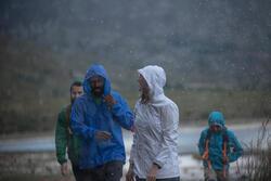 Waterdichte wandeljas voor dames Raincut Zip - 983979