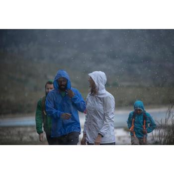 Veste Imperméable randonnée nature femme Raincut Zip noire - 983979
