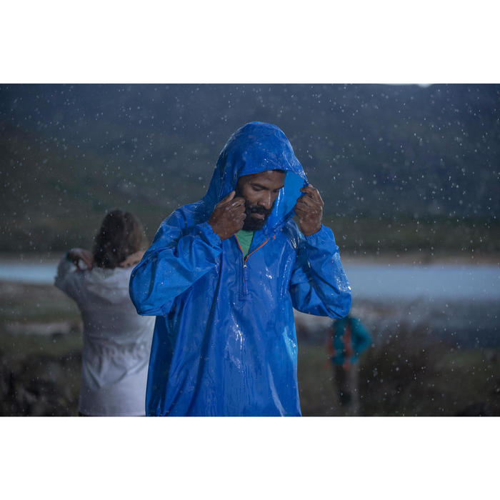 Regenjacke Raincut Herren blau