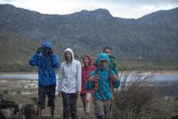Waterdichte wandeljas voor dames Raincut Zip - 983987