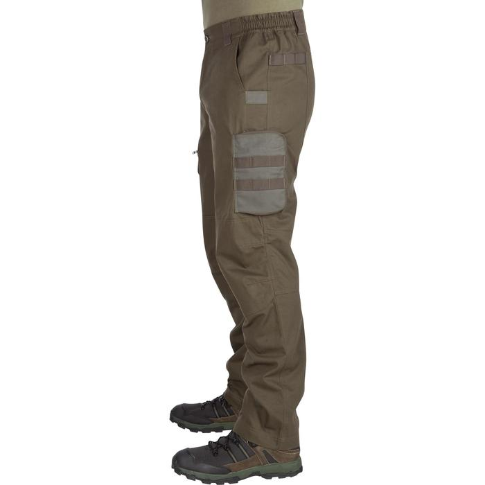 St900 Durable Hunting Trousers Green Solognac Decathlon