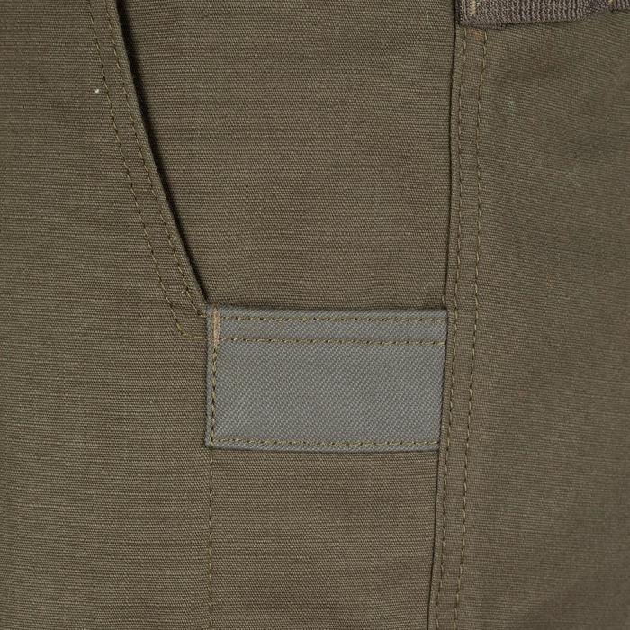 Pantalón Caza Solognac Sg 900 Reforzafo Multi Bolsillo Verde