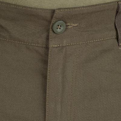 Pantalón Caza Solognac Steppe 900 Adulto Verde
