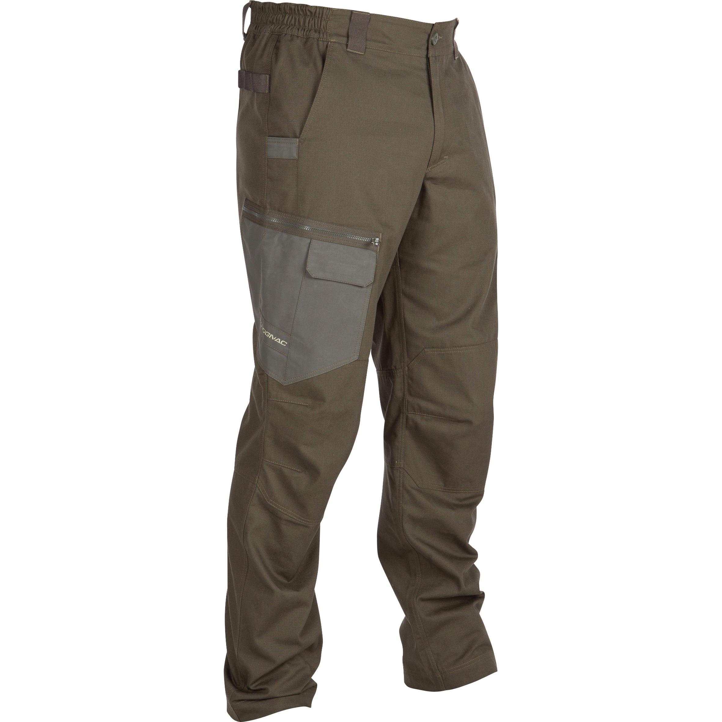Pantalon Stepă 900 verde